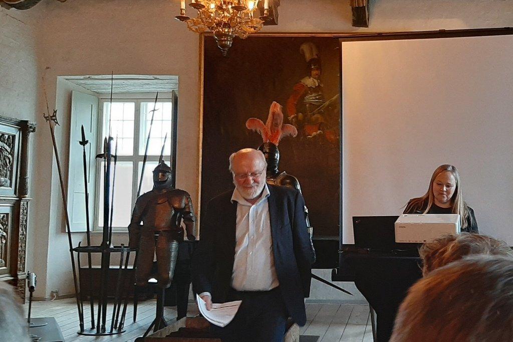 Formand for rådet Johs. Nørregaard Frandsen causerer over kartoflens lyksaligheder
